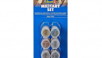 Sada barev Aqua Color 39075 - Military Set