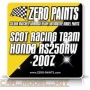 Scot Racing Team Honda RS250RW 2007 2x30ml - Zero Paints