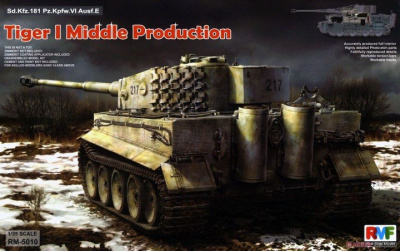 Sd.Kfz. 181 Pz.kpfw.VI Ausf. E Tiger I Middle Production w/ Full Interior 1/35 - RFM