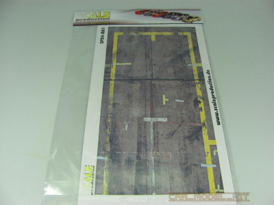 Self Adhesive Pit-Lane Stickers 1 - SCALE PRODUCTION