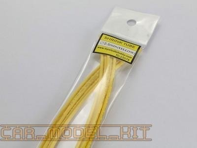 Shrink Tube 2.5 mm (Yellow) - Top Studio
