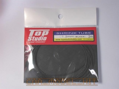 Shrink Tube (Black) 1.2 mm - Top Studio
