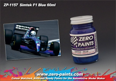 Simtek F1 Blue - Zero Paints