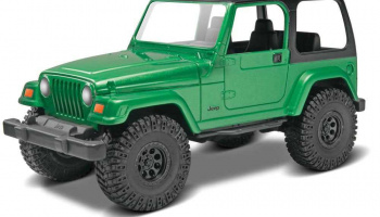 Snap Kit Build & Play MONOGRAM 1695 - Jeep Wrangler Rubicon (1:25) - Revell