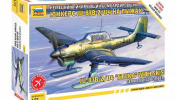 "Snap Kit letadlo 7323 - JU-87B-2/U4 ""STUKA"" with skis (1:72)"