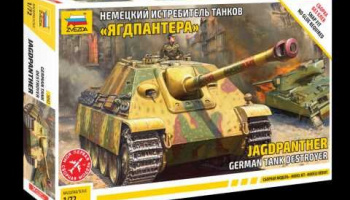 "Snap Kit tank 5042 - German ""Jagdpanther"" (1:72)"