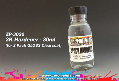 Spare Hardener for 2 Pack, 30ml - Zero Paints