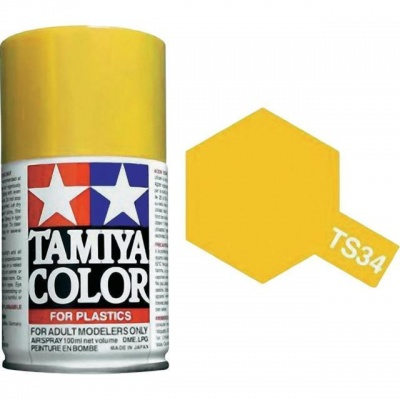 Spray TS34 Camel Yellow - Tamiya