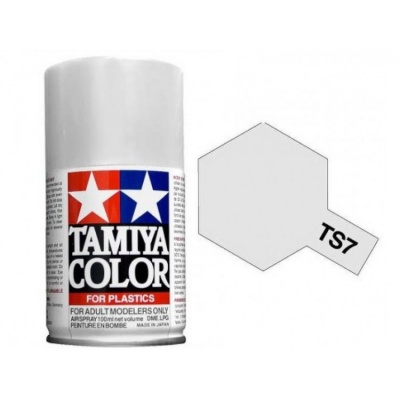 Spray TS7 Racing White - Tamiya