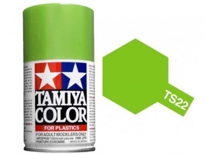 Sprej TS22 Light Green – Tamiya