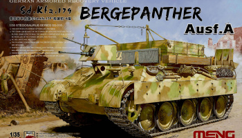 Sd.Kfz.179 Bergpanther Ausf A German Armored Recovery Vehicle 1:35 - Meng
