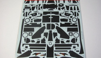Carbon decal for Ferrari F10 (for FUJ GP32) - Studio27