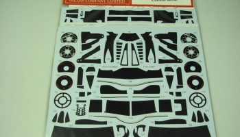 F2007 Carbon Decal for Fujimi - Studio27
