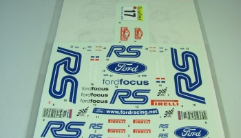 "Ford Focus WRC ""RS"" MC 2001 - Studio27"