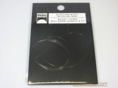 Stainless Steel Detailing Wire 1:43 - Scale Motorsport