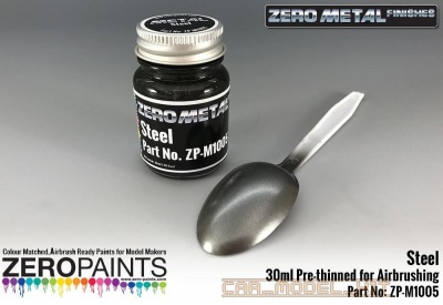 Steel Paint - 30ml - Zero Metal Finishes - Zero Paints