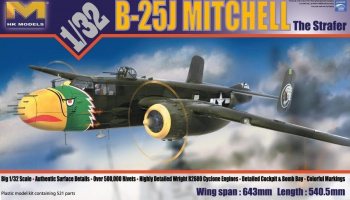 B-25J Mitchell 'Strafer' 1/32 - HK Models
