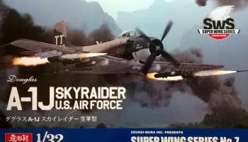 Douglas A-1J Skyraider US Air Force 1/32 - Zoukei-Mura