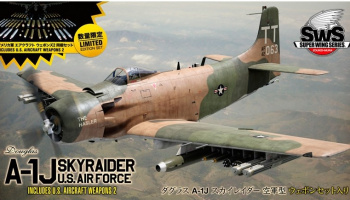 Douglas A-1J Skyraider U.S.AIR FORCE INCLUDES U.S. AIRCRAFT WEAPONS 2 1/32 - Zoukei-Mura