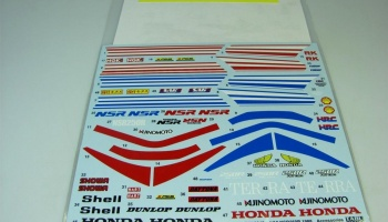 NSR250R SP ACCESORY DECALS 1988 - Tabu Design