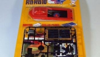 Toyota RaRa10 solární auto kit, Toyota RaRa10 Solar Powered Car Kit - Tamiya