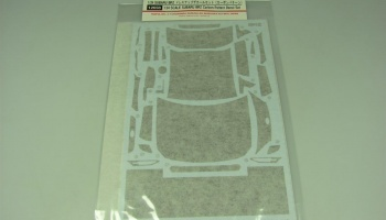 Subaru BRZ Carbon Pattern Decal Set - Tamiya