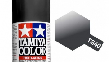 Spray TS40 Metallic Black - Tamiya