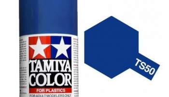 Spray TS50 Mica Blue - Tamiya