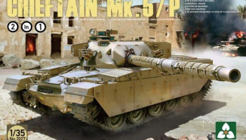 BRITISH MAIN BATTLE TANK CHIEFTAIN Mk.5/P  1/35 - Takom