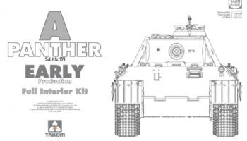 Panther Ausf. A early prod. (full interior) 1/35 - Takom