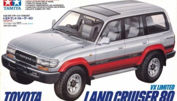 Land Cruiser 80VX Ltd. - Tamiya