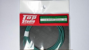 Shrink Tube (Green) 2.0 mm - Top Studio