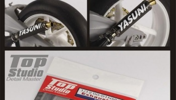 Honda 2000-2001 NSR250 Exhaust Pipe - Top Studio