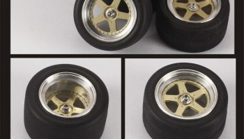 Mazda 787B Wheels Set - Top Studio
