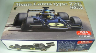 Team Lotus Type 72E 1973 - Ebbro