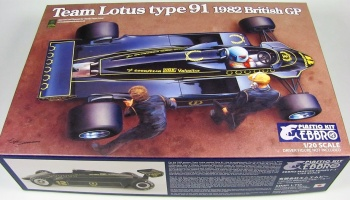 Team Lotus Type 91 1982 - Ebbro
