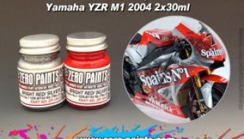 Fortuna/Spain No.1 YZR-M1'04 No.7/No.33 Paint Set 2x30ml - Zero Paints