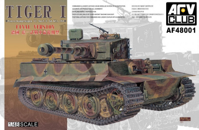 Tiger I Panzerkampfwagen VI Sd.Kfz. 181 Final Version (1:48) - AFV Club