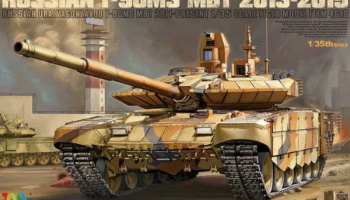 Russian T-90MS MBT 2013-2015 1/35 - Tiger Model