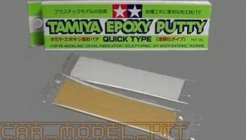 Epoxy Putty (Quick type) – Tamiya