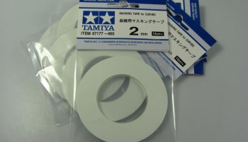 Masking Tape for Curves 2mm - Tamiya