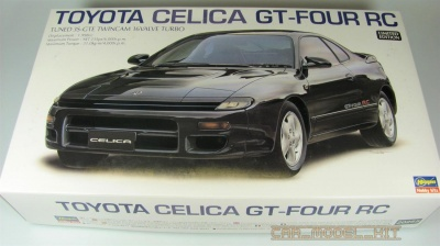 Toyota Celica GT-Four RC - Hasegawa