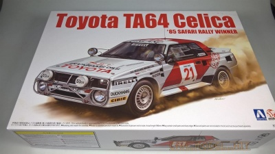Toyota TA64 Celica 85´ Safari Rally Winner - Beemax