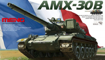 French AMX-30B Main Battle Tank (1:35) - Meng