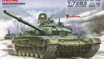 RUSSIAN MAIN BATTLE TANK T-72B3 1/35 - Meng
