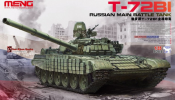 Russian Main Battle Tank T-72B1 1/35 - Meng