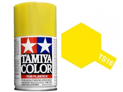 TS-16 Yellow - Tamiya