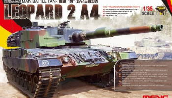 Leopard 2 A4 German Main Battle Tank 1:35 - Meng