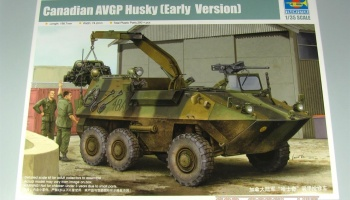 Canadian AVGP Husky (Early Version) 1/35 - Trumpeter