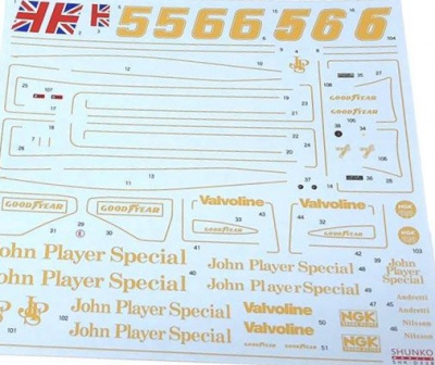 Type78 (1977) Decal Set (for Tamiya) 1:20 - Shunko Models